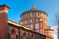 Church of Santa Maria delle Grazie, Milan, Italy, Royalty Free Stock Photo