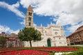Church santa maria la antigua in valladolid of th century castile and leon spain Stock Photo