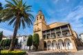 Church of Santa Maria La Mayor in Ronda. Andalusia, Spain