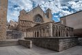 Church of santa maria la real olite in navarra Royalty Free Stock Photo