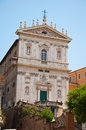 The Church of Santi Domenico e Sisto. Rome, Italy. Stock Image