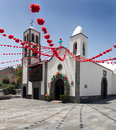 Church in Santiago del Teide Royalty Free Stock Image