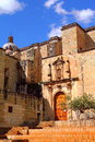 Church of Santo Domingo de Guzman in Oaxaca Royalty Free Stock Photo