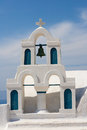 Church in Santorini Greece Stock Photos