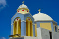 Church of Santorini Royalty Free Stock Photo