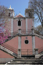 Church santos lisbon portugal the of Stock Images