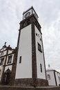 Church of sao sebastiao the th century also known as mother is in ponta delgada the capital miguel a portuguese Royalty Free Stock Photography