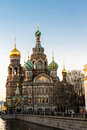Church of the savior on blood saint petersburg russia Royalty Free Stock Photo