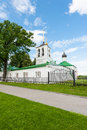 Church of the savior in downtown vladimir russia Royalty Free Stock Images
