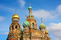 Church of the Savior on Spilled Blood Royalty Free Stock Photography