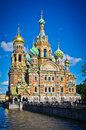 Church of the Savior on Spilled Blood Royalty Free Stock Images