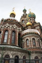 Church of Savior on Spilled Blood Stock Photo