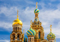 Church of the Savior on Spilled Blood Stock Photography