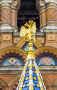 Church of the savior on spilled blood cathedral of resurrection st petersburg russia july it is an architectural landmark city Royalty Free Stock Image