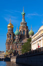 Church of the savior on spilled blood in st petersburg russia august august russia was closed during soviet time it was Royalty Free Stock Photos