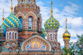 Church of the Savior on Spilled Blood, St Petersburg Russia Royalty Free Stock Photo