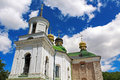 The Church of the Saviour at Berestovo, Kiev-Pechersk Lavra, Kyiv, Ukraine Royalty Free Stock Photo