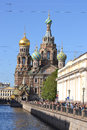Church of the Saviour on the Blood Royalty Free Stock Photo