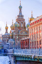Church of the Saviour on Spilled Blood in St. Petersburg Royalty Free Stock Photo