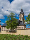 Church schleusingen germany Stock Image