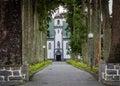 Church of Sete Cidades Royalty Free Stock Photo