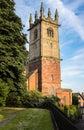 Church in shrewsbury england st julian s and churchyard shropshire Stock Photography