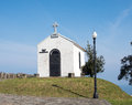 Church small chapell on the north coast of spain Royalty Free Stock Photo