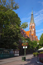 Church in Sopot Royalty Free Stock Photo