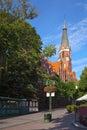 Church in Sopot Royalty Free Stock Photo