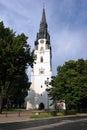 Church in Spisska Nova Ves, Slovakia
