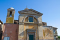 Church of SS. Martiri. Tuscania. Lazio. Italy. Royalty Free Stock Image