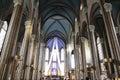 Interior of St. Anthony of Padua Church,  Istanbul, Turkey
