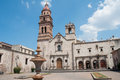 Church of St. Augustine, Morelia (Mexico) Royalty Free Stock Photo