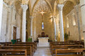 Church of st benedetto brindisi puglia italy detail the Royalty Free Stock Photography