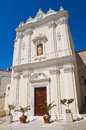 Church of st caterina castellaneta puglia italy perspective the Stock Photo