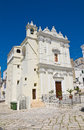 Church of st caterina castellaneta puglia italy perspective Royalty Free Stock Photography