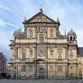 Church of st charles borromeo in antwerp belgium carolus borromeuskerk Stock Photography
