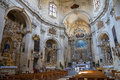 Church of St. Chiara. Lecce. Puglia. Italy. Royalty Free Stock Image