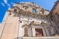 Church of st domenico castellaneta puglia italy perspective the Stock Images
