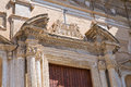 Church of st domenico castellaneta puglia italy perspective the Stock Photo