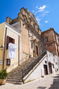 Church of st domenico castellaneta puglia italy perspective Stock Photos