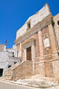 Church of st domenico ceglie messapica puglia italy detail the Royalty Free Stock Images