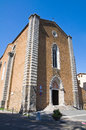 Church of St. Domenico. Orvieto. Umbria. Italy. Royalty Free Stock Image