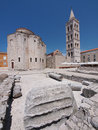 Church of st. Donat in Zadar, Croatia Stock Image