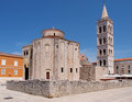 Church of st. Donat in Zadar, Croatia Royalty Free Stock Photo
