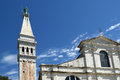 Church of st eufemia euphemia rovinj croatia Stock Image