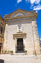 Church of st francesco poggiardo puglia italy perspective the Stock Photo