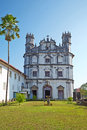 Church of st francis of assisi goa india Royalty Free Stock Photo