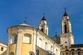 Church of St. Francis Xavier in Kaunas Royalty Free Stock Photo