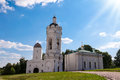 Church of st george with a bell tower in kolomenskoye moscow th century Royalty Free Stock Image